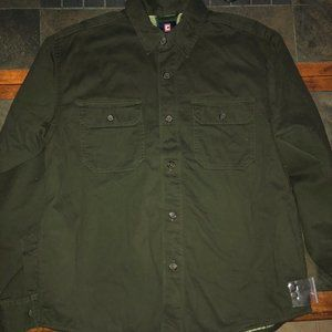 Mens Chap Ralph Lauren Shirt Jacket Large NEW